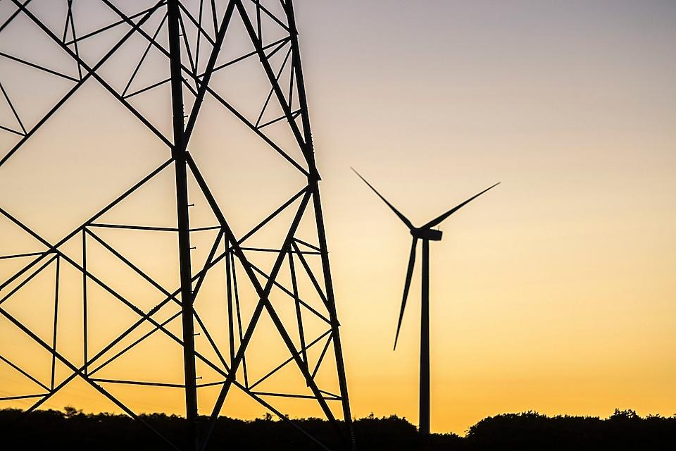 Mount storm wind turbines