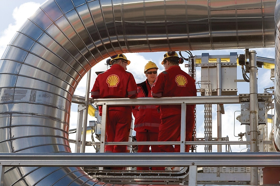 Engineers on the Ormen Lange field which will meet around 20% of the UK's gas needs