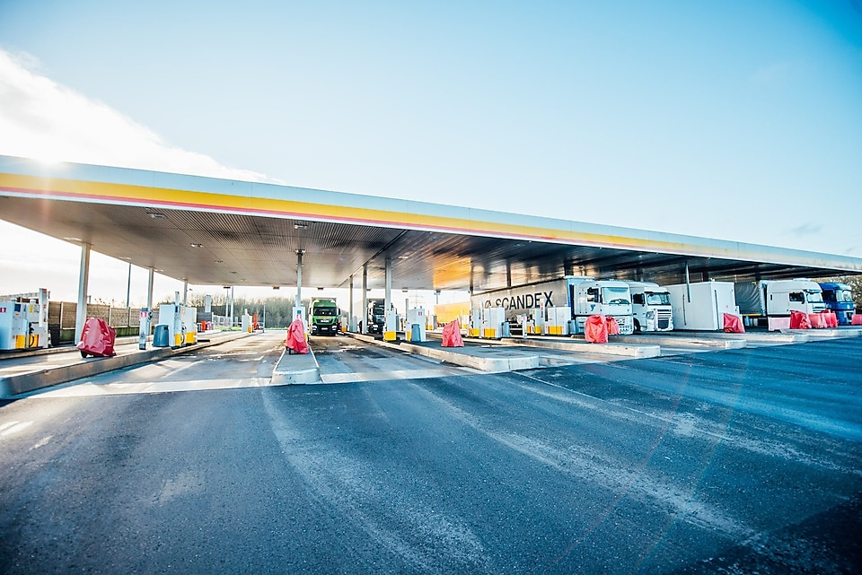 Shell Berchem offers you 27 pumps
