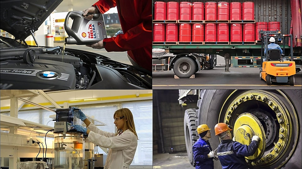 Shell is active across the full lubricants sector value chain