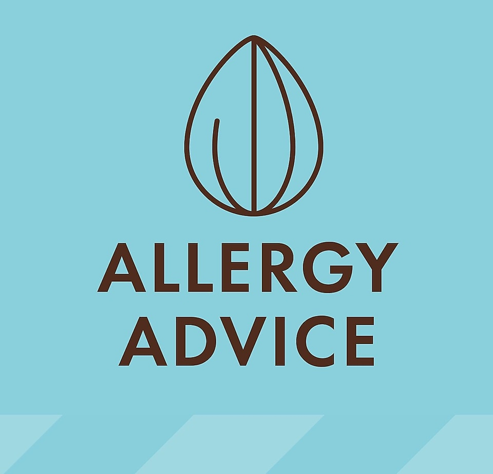 Detailed allergy advice