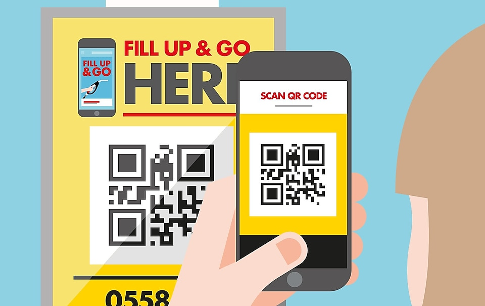 mobile payment scanning code