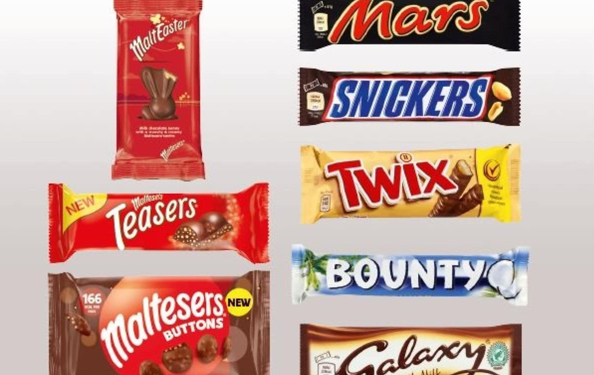 Mars Chocolate 2 for £1